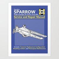 Sparrow Service And Repa… Art Print