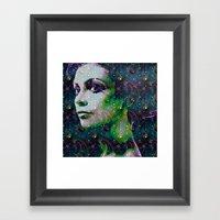 hello earth Framed Art Print