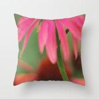 Flower Shower Version 2 Throw Pillow