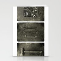 Dad Used To Make Things … Stationery Cards