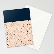 XVI - Dark Blue Stationery Cards