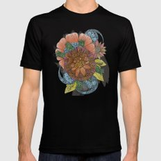 Tarquien Black SMALL Mens Fitted Tee