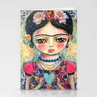 The Heart Of Frida Kahlo… Stationery Cards