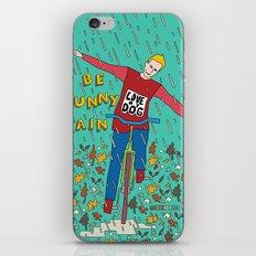 Be Funny Rain iPhone & iPod Skin