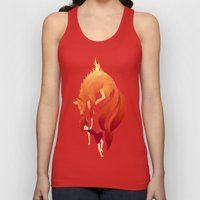 Fire Fox Unisex Tank Top