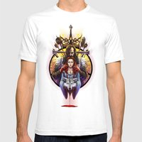The Blood Maiden Mens Fitted Tee White SMALL