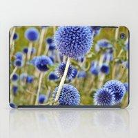 BLUE WILD THISTLE iPad Case