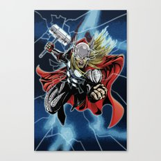 Almighty Thor  Canvas Print