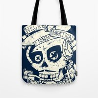 Necro Nautical Nonsense  Tote Bag