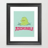 Adoribru! Framed Art Print