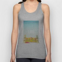 Life Is A Roller Coaster Unisex Tank Top