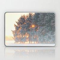 Sunrise in winter cloud forest Laptop & iPad Skin
