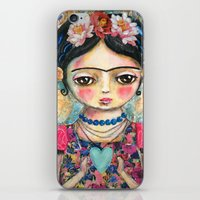 The Heart Of Frida Kahlo… iPhone & iPod Skin