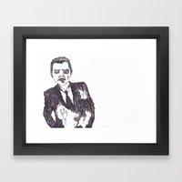 Heart Suit Framed Art Print