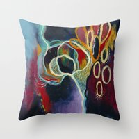 What Was and Is Throw Pillow