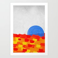 SUNSEA Art Print