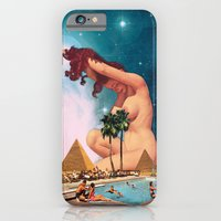 iPhone Cases featuring The Sphinx by Eugenia Loli