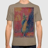 Sphynx Cat 3 Mens Fitted Tee Tri-Coffee SMALL