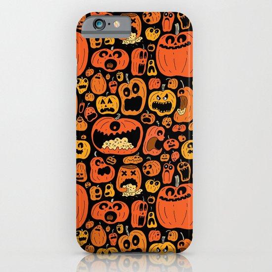 Pumpkin Pattern iPhone & iPod Case