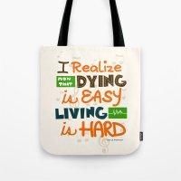 IF I STAY: I Realise Tote Bag