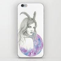 Zodiac - Capricorn iPhone & iPod Skin