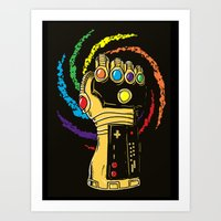 Infinite Power Art Print