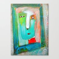 The Passerby Canvas Print