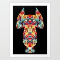 Dimensional Traveler Art Print