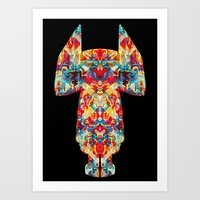 Dimensional Traveler Art Print