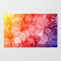 Party Bubbles Canvas Print