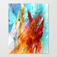 Recognize Glowing Canvas Print