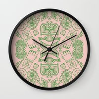 Modern Icons - Tattoo - … Wall Clock