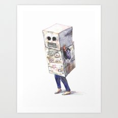 Robotic Connection no. 1 Art Print