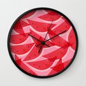 Watermelon Wall Clock