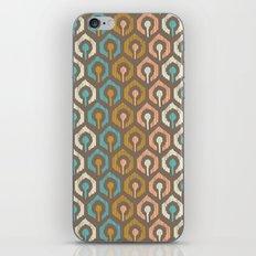 Honeycomb IKAT - Cocoa iPhone & iPod Skin