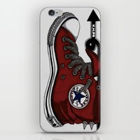 A Step In The Right Dire… iPhone & iPod Skin