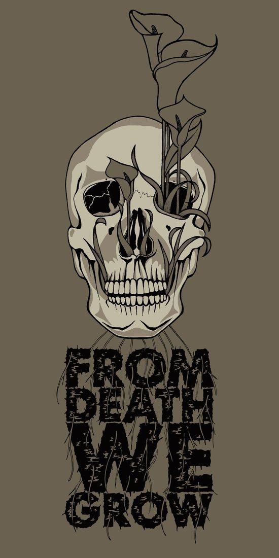From Death We Grow... Art Print