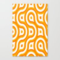 Retro Look III Canvas Print