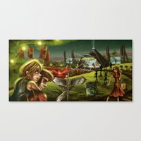 Glastonbury 2014 Canvas Print