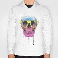 Pop Art Skull With Glass… Hoody