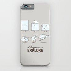 Let's Go Explore iPhone 6 Slim Case