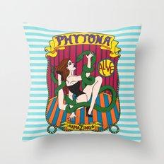 Phytona Throw Pillow