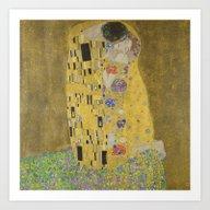 The Kiss Art Print