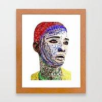 human Framed Art Print