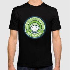 Cute John Watson - Green Mens Fitted Tee Black SMALL
