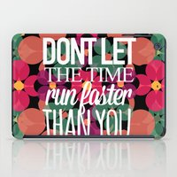 FLOWER TIME iPad Case