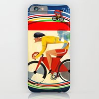 Track Cycling Championship Poster Cycle Bike iPhone 6 Slim Case