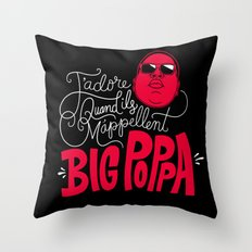 French Poppa 2.0 Throw Pillow
