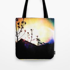 :: above the rooftops Tote Bag