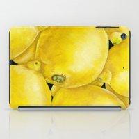 Fresh Lemons iPad Case